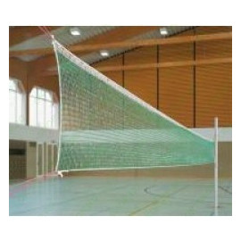 Fileu Volei Antrenament Huck, 9.50 x 1 m, Patrat 10x10 cm, PE, 3 mm - cod 503