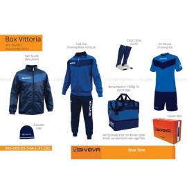 BOX VITTORIA BLEUMARIN/ALB M